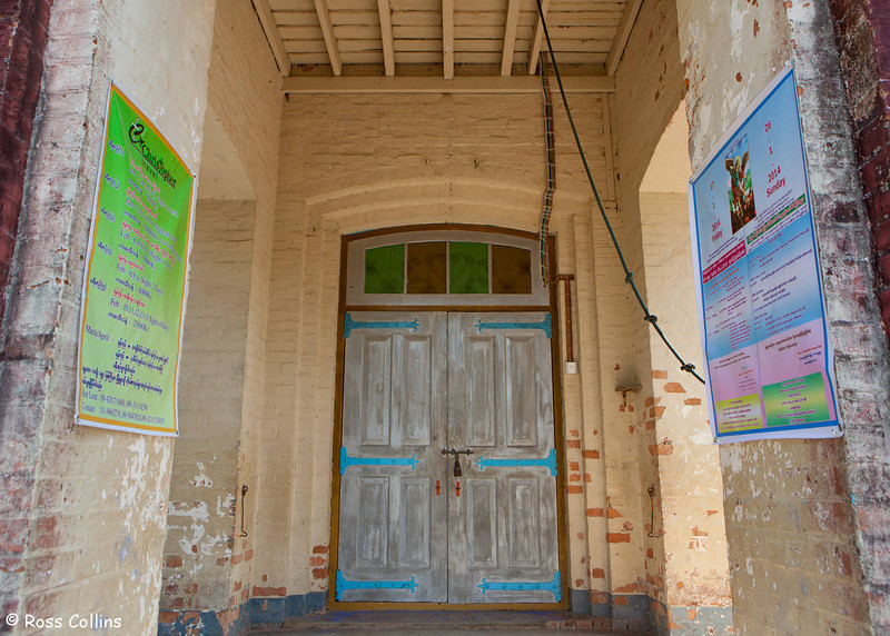 Sacred Heart Church, Kyauktan, Myanmar, 19 January 2014