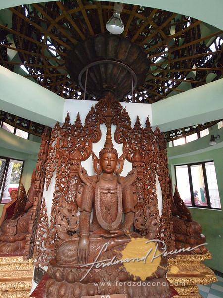 The original stupa umbrella