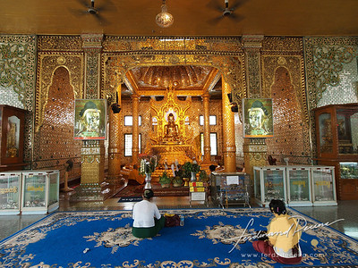 Botahtaung Pagoda Interiors