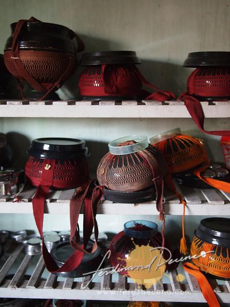 monk's alms bowls