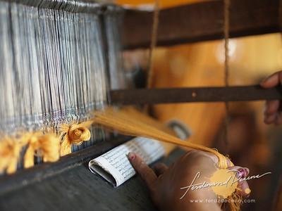 Botahtaung Pagoda Monk Robe Weavers