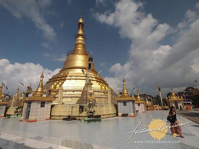 Botahtaung Pagoda Stupa