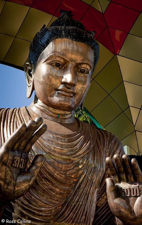 Botataung Pagoda, Yangon, Myanmar, 25 January 2013