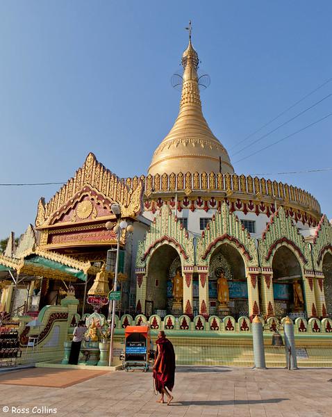 Kaba Aye Pagoda, Yangon, Myanmar, 18 January 2014