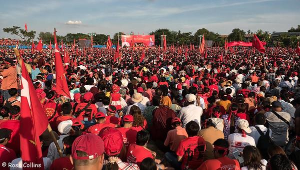 Aung San Suu Kyi Rally, 2015