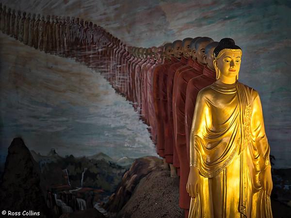 Ngatatgyi Pagoda, Yangon, Myanmar, 30 October 2015