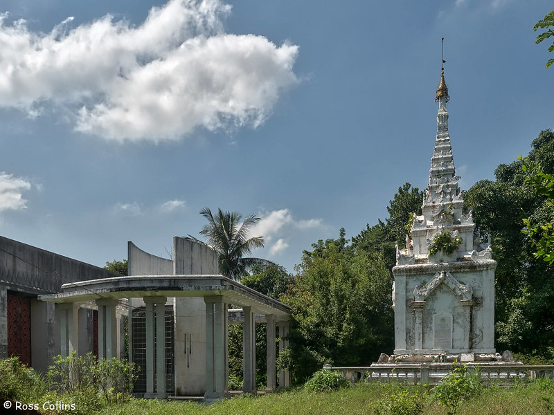 Khin Kyi and Queen Supalayat Mausoleums, Yangon, Myanmar, 31 October 2015