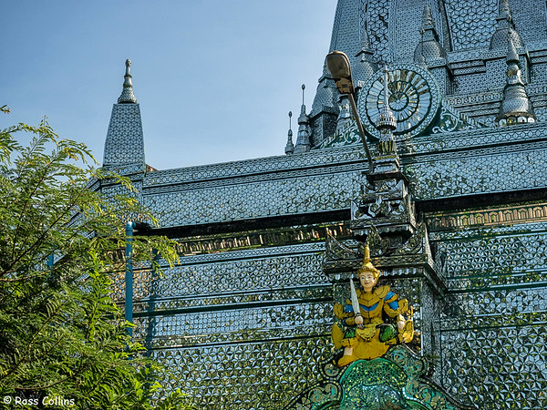 Sein Yaung Chi Pagoda, Yangon, Myanmar, 31 October 2015