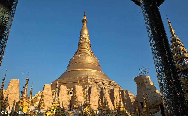 Shwedagon Pagoda, Yangon, Myanmar, 24 January 2013