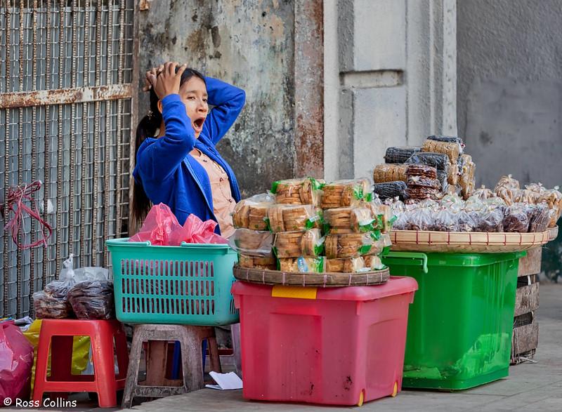 Streets of Yangon, Myanmar, January/February 2013