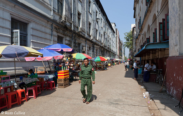 Streets of Yangon, Myanmar, January/February 2013