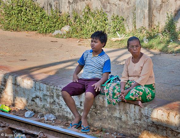 Yangon City Circle Line, Myanmar, 26 January 2013