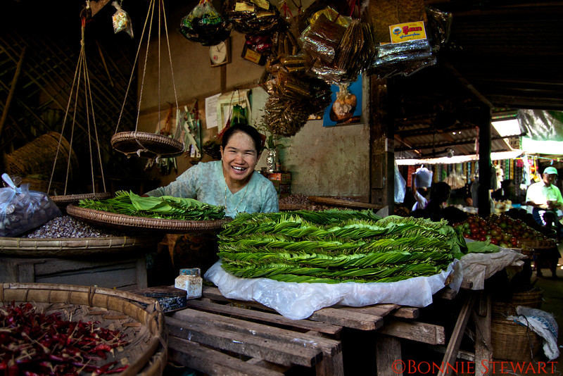 Selling product in the local market