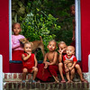 Local village children who are already monks