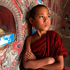 Young Monk in the Naug Shwae Temple