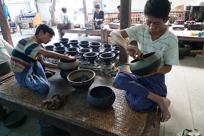 Bagan: Bamboo Lacquer Workshop