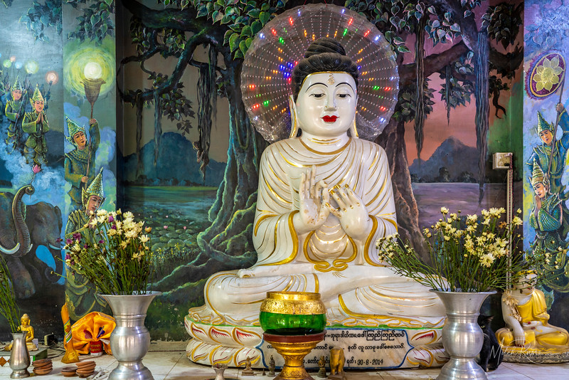Psychedelic Buddha