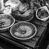 Vegtables street food Yangon Burma