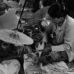 Umbrella making Burma