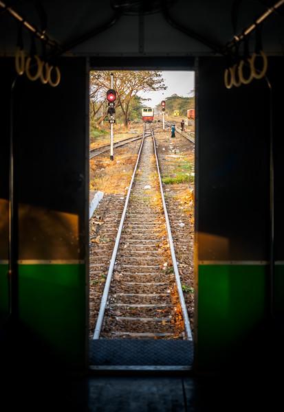 Circular Train-Linear World
