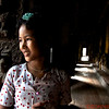 Young girl who helps care for the monastery