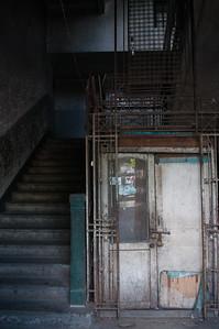 Colonial elevator, Yangon