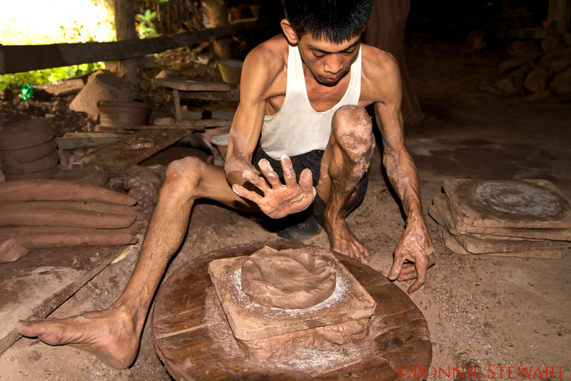 Pottery worker