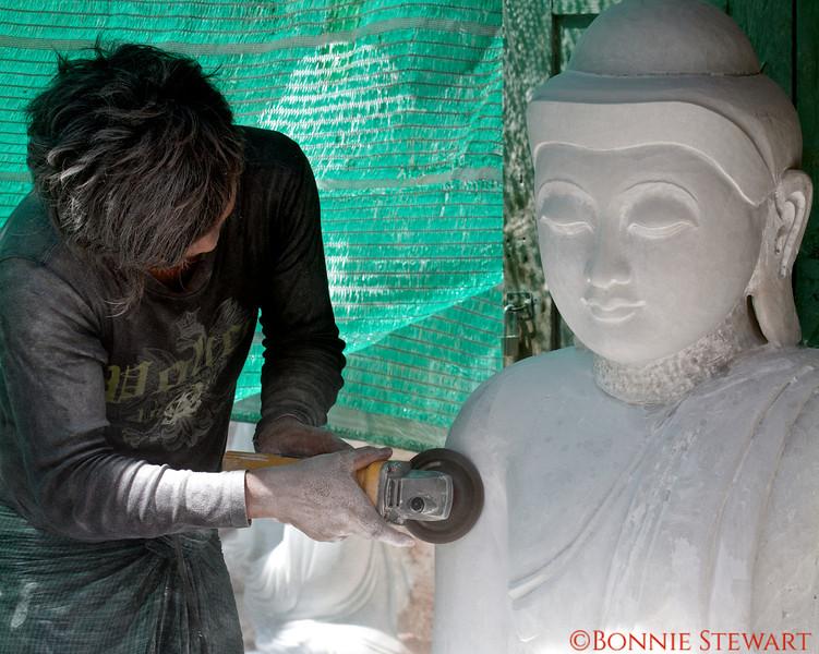 Marble sculptor