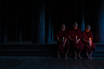 Shwekyin Monastery Monks