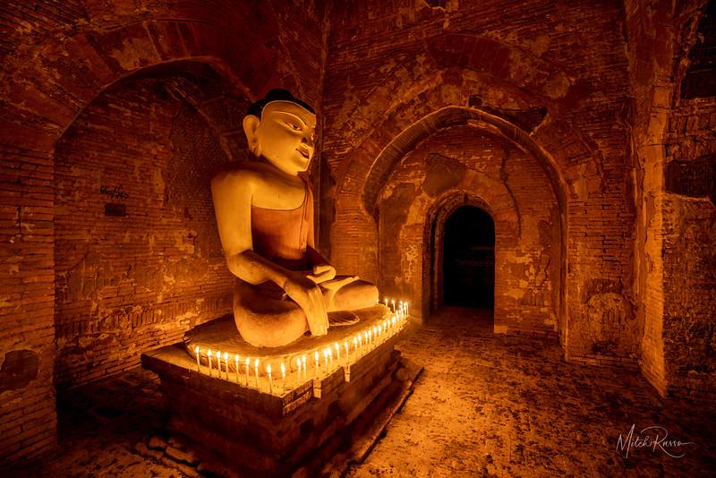 At Night Alone With Buddha