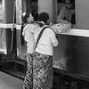 Food Sellers Burmese Railway