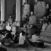 Worship in Yangon Temple