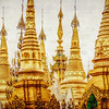 Stupas of Schwedagon