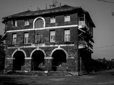 Goods yard former British Burmese railways Yangon