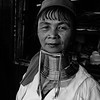 Burmese Tribal Woman in traditional neck rings