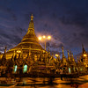 Shwedagon Pagoda in Yangon, the most important Pagoda in Myanmar