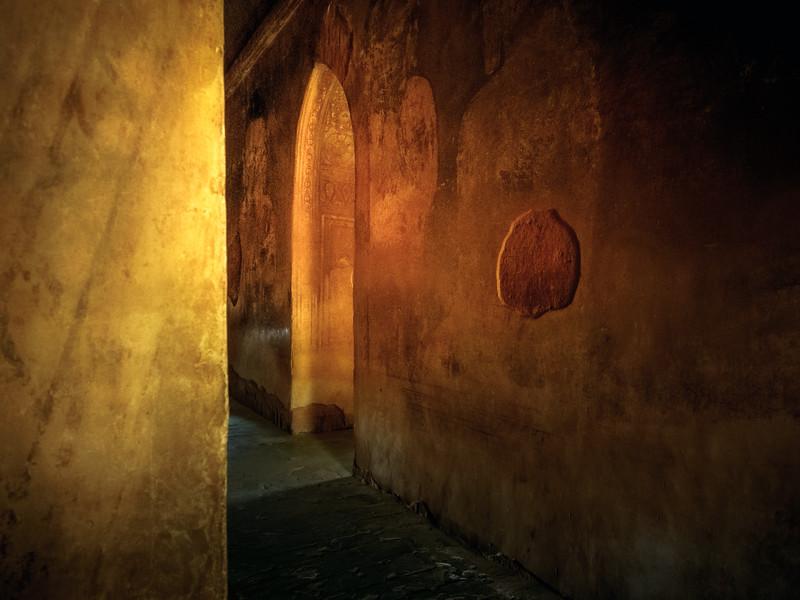 Figure Beyond The Door