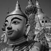 Temple Detail Yangon