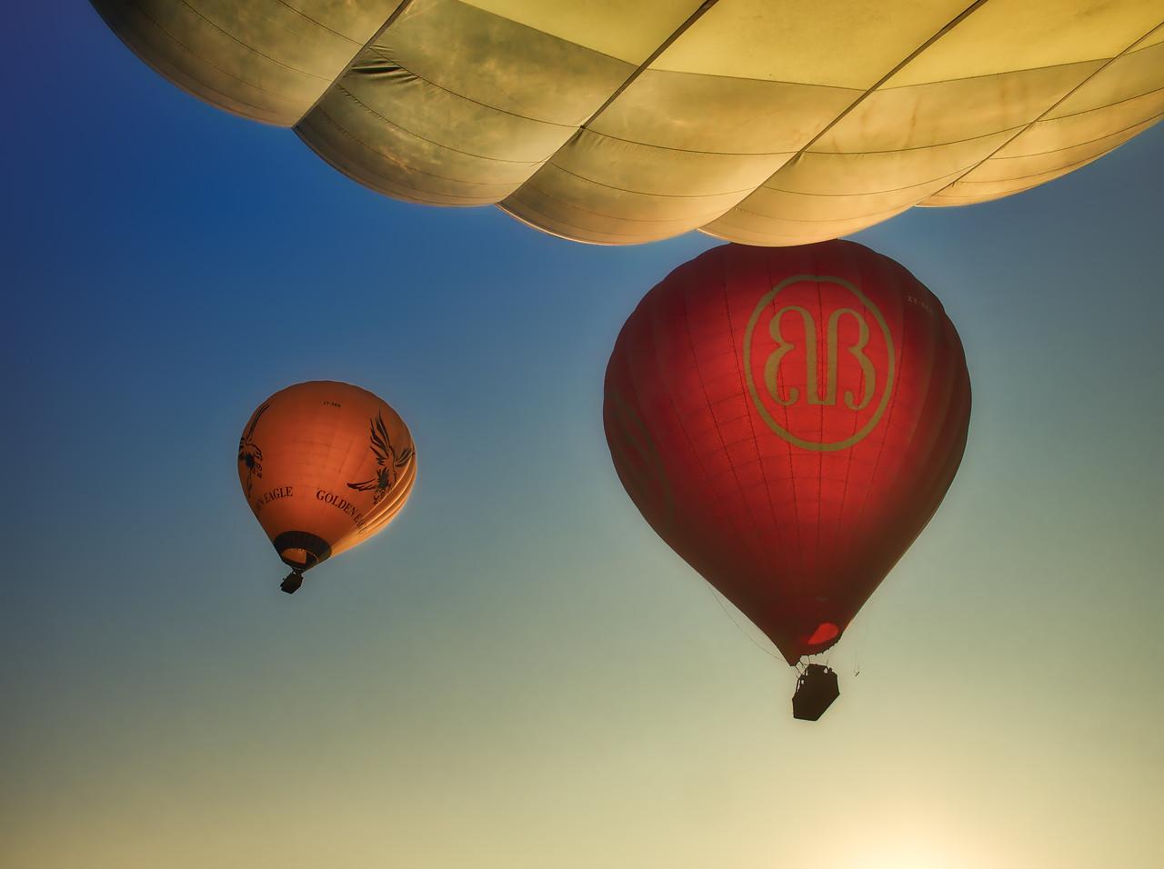 Bagan's Bright Balloons