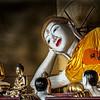 Resting Buddha and Entourage