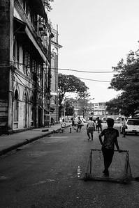 Street football, Yangon