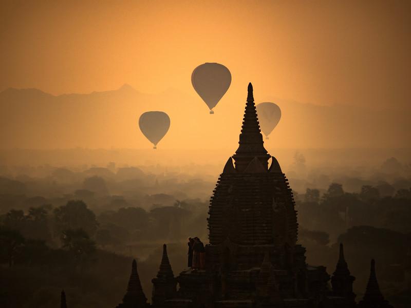 Ballooning in Burma