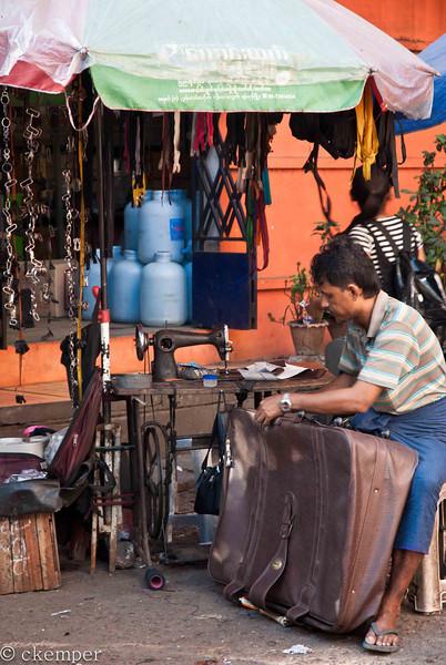 Street Tailor<br /> Yangon