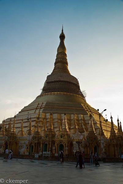 Shwedagon Pagoda <br /> Yangon, Burma