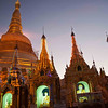 Shwedagon Pagoda Night<br /> Yangon, Burma