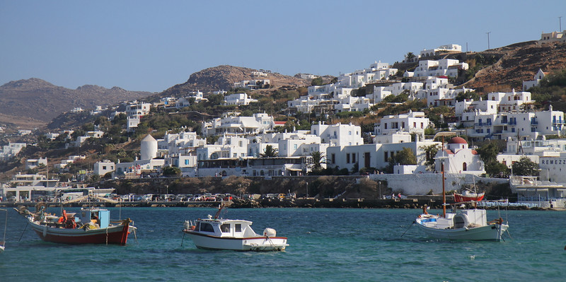 Notable for its large gay tourist population, Mykonos is quite the party place in the summer months.