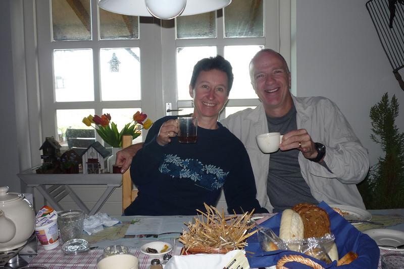 Breakfast at Theetuindewinde/Netherlands