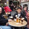 First Belgian beer tasting/Brussels