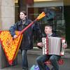 Street musician's/Brussels