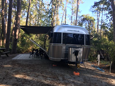 Myrtle Beach SP campsite